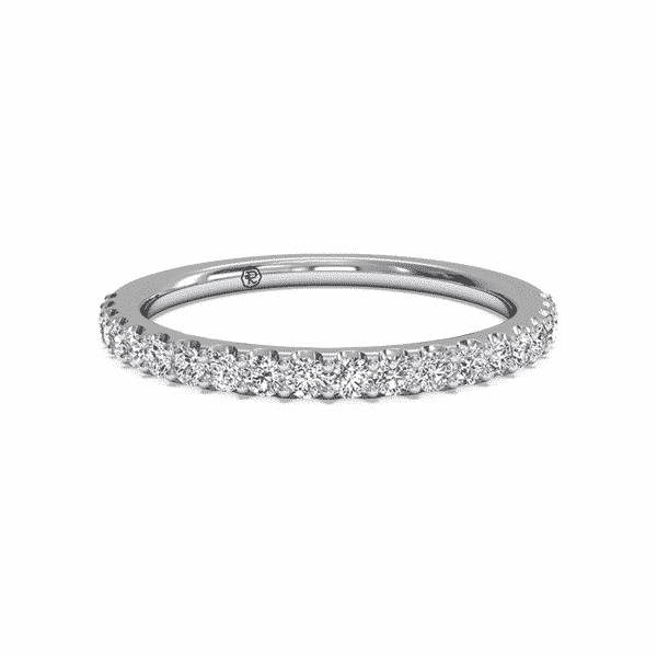 Women's French-Set Diamond Ring