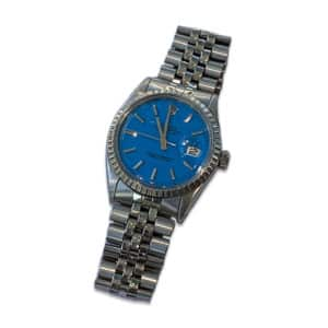 1970 Rolex Datejust Blue Dial