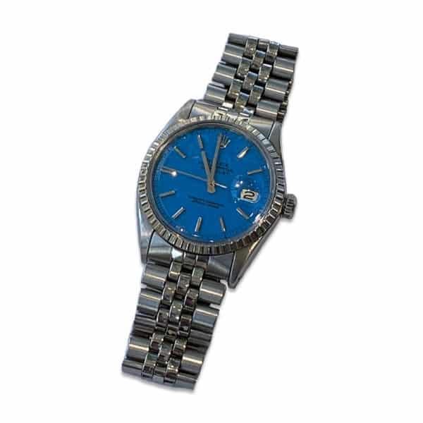 1970 Rolex Datejust Blue Dial