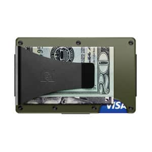 Aluminum - OD Green Wallet with Money Clip | Marvin Scott & Co.