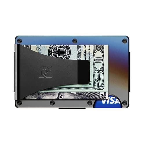 Titanium - Burnt - Wallet with Money Clip | Marvin Scott & Co.