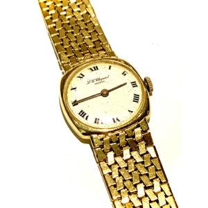 Chopard 18k Yellow Gold Vintage Ladies Watch