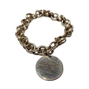 Tiffany & Co Open Link Charm Bracelet
