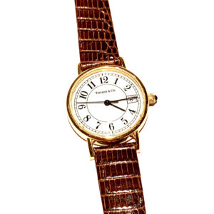 Tiffany & Co 18k Yellow Gold Ladies Watch