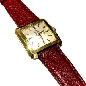 Universal Geneve 18k Yellow Gold Square Dress Watch