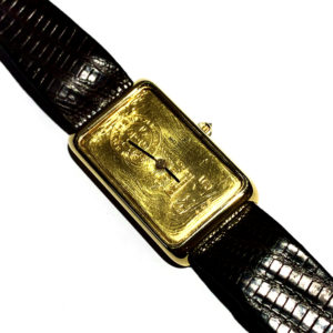 Corum UBS 18k Yellow Gold Watch